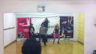"""Gimme more"" - britney Spears - choreography by Giancarlo Valdivia"