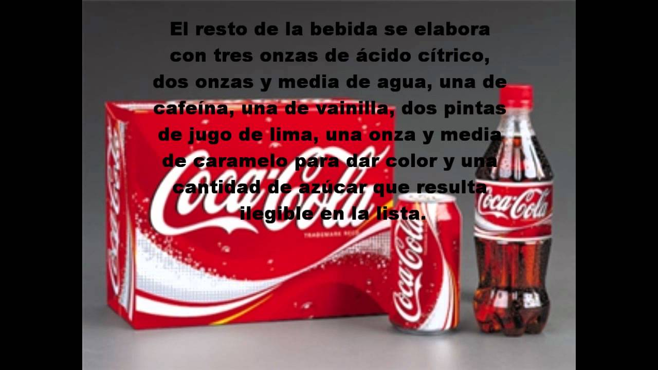 Revelan en Internet la receta original de Coca-Cola - YouTube