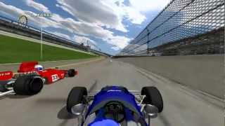rFactor Formula 5000 Crash Daytona Road Course