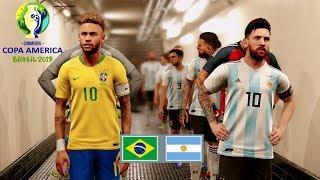 Copa America 2020 Final  Argentina Vs Brazil