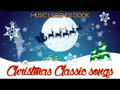 Видео: Christmas Classic Songs 4 Hours of Non Stop Music - Music Legends Book