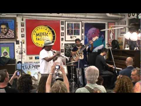 Kermit Ruffins @ Louisiana Music Factory JazzFest 2011