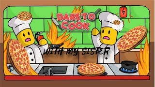 ROBLOX| DARE TO COOK| 1 CODE + LETS COOK PIZZA!|