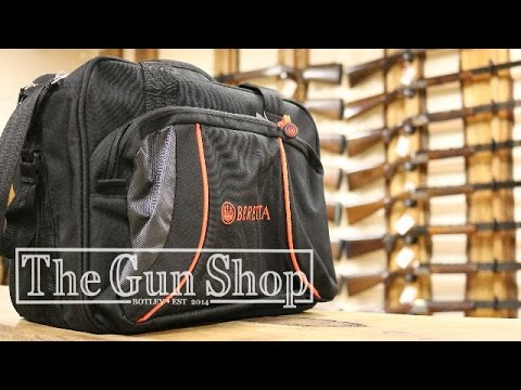 Beretta Uniform Cartridge Bag Review - The Gun Shop - YouTube