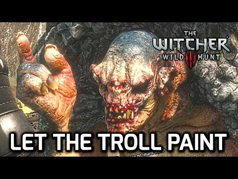 ♥ Trollololo! Witcher 3 - Let the Troll Paint the Bird