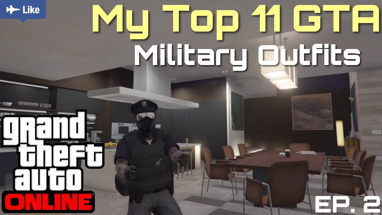 Gta V Online Top 10 Gta Outfits Military Outfits Gta