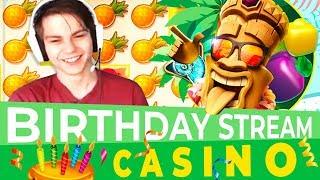 BIRTHDAY CASINO STREAM \ Lucky SLOTS / Online casino