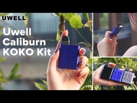Compatible with the caliburn pod, meet the brand new Uwell Caliburn KOKO Pod Kit! | Elegomall