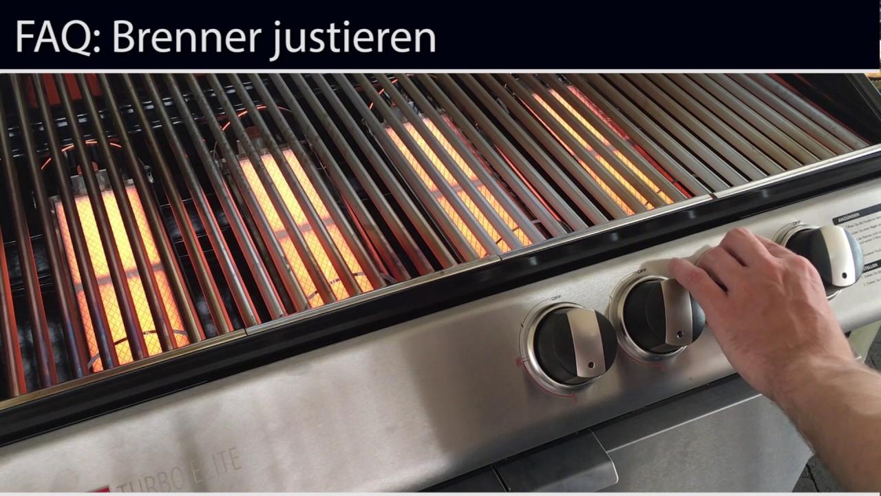 Landmann Gasgrill Nicht Heiß : Ziegler & brown brenner justieren youtube