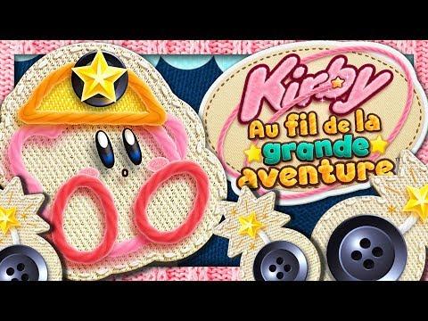 KIRBY AU FIL DE LA GRANDE AVENTURE NINTENDO 3DS   TEST ET DEMO