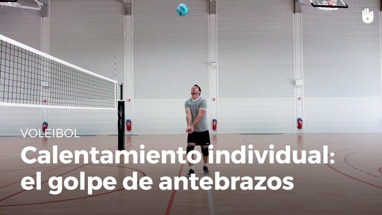 ejercicios para toque de dedos voleibol