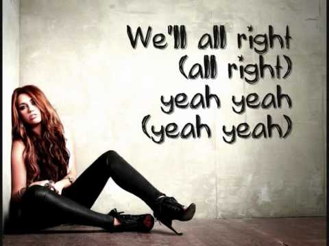 Miley Cyrus- Liberty Walk (Lyrics On Screen + HQ) [Full]