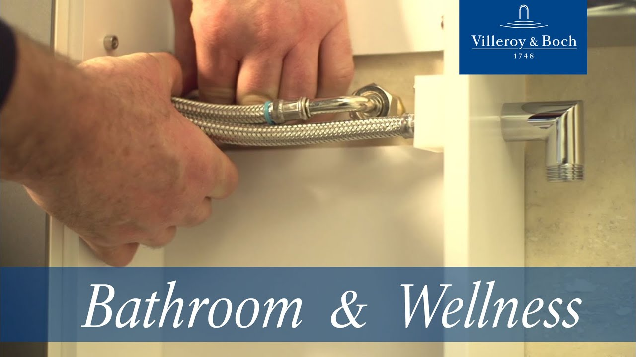 How to install – Vivia shower panel | Villeroy & Boch - YouTube