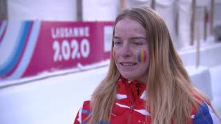 FIRST GOLD FOR ROMANIA AT WINTER YOUTH OLYMPIC GAMES LAUSANNE 2020 WITH VICTORY IN WOMEN'S MONOBOB