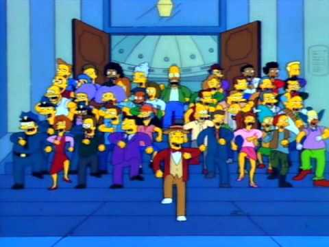 The Simpsons - The Monorail Song [8/24/2012's Pick]