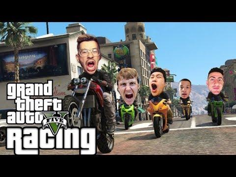 TEAM ALBOE RACING #5 | GTA 5 Funny Moments (GTA 5 Online Races)