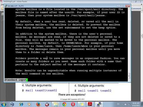 Aix  IBM Basic Commands
