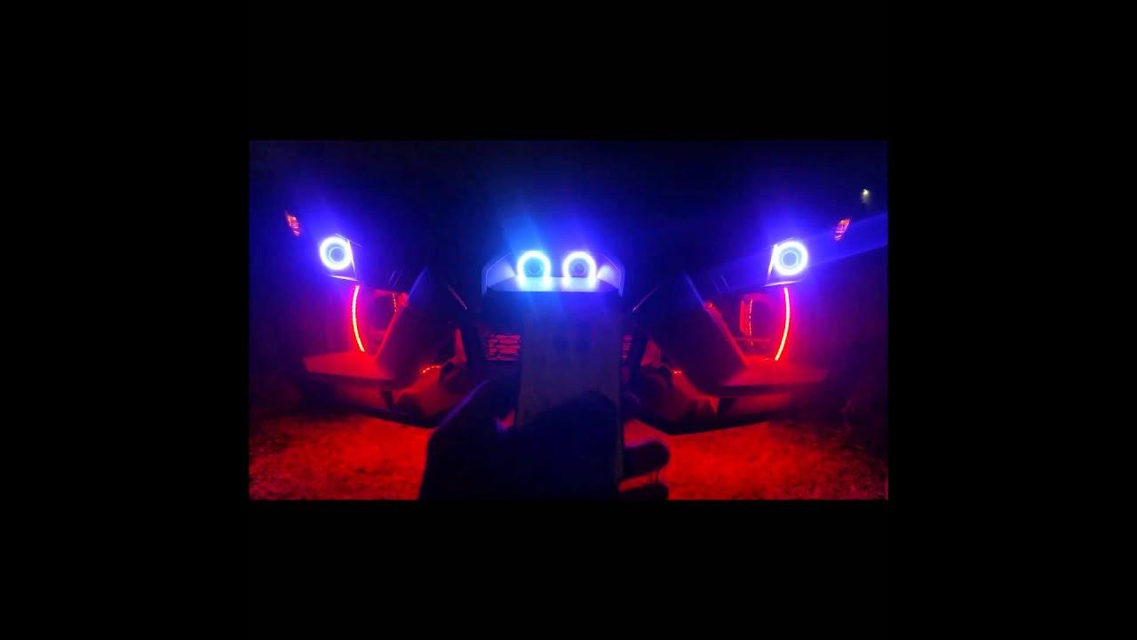 Polaris Slingshot With Halos Youtube