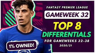 FPL GW32-38 BEST DIFFERENTIALS! | Low Ownership Players for Fantasy Premier League 2020-21