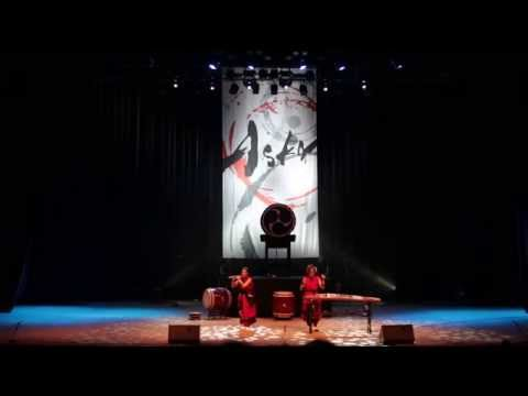 Japanese drum troupe ASKA in Ekb (2 of 3)