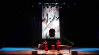 Japanese drum troupe ASKA in Ekb (2 of 3)