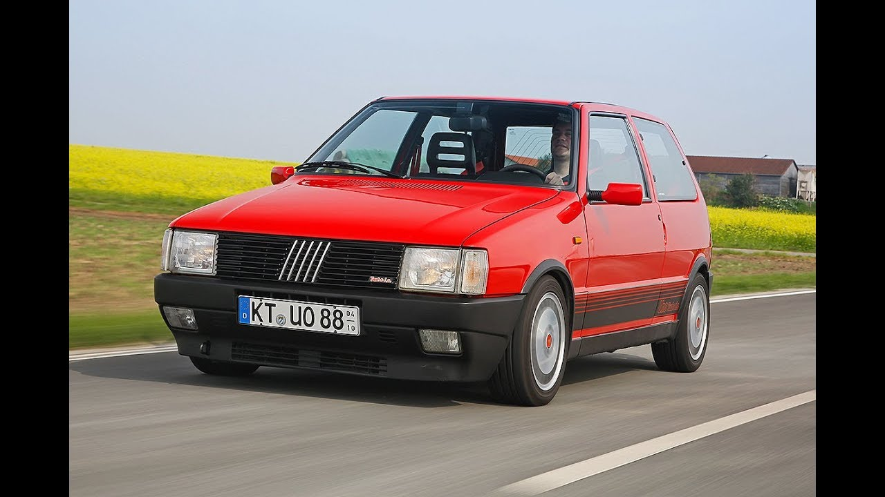 fiat uno turbo compilation - racing and sound! - youtube