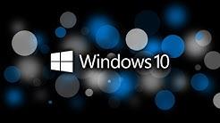 Windows 10 - Kennwort vergessen / zurücksetzen / knacken - Ohne Zusatzsoftware!