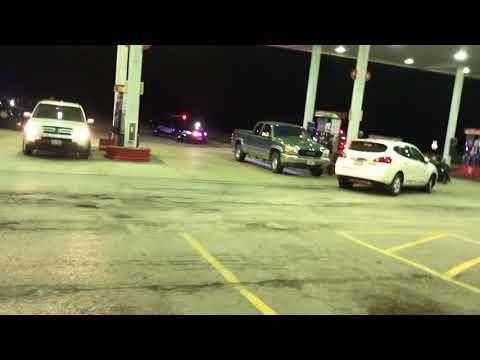 Oswego, IL Eyewitness Police Chase
