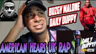 Bugzy Malone Daily Duppy Reaction BARS! (UK Rap Reaction UK Grime) (AMERICAN LISTENS TO UK RAP #13)