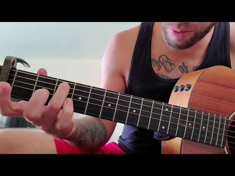 How To Play Mr. Brightside By The Killers On Guitar (acoustic Version)