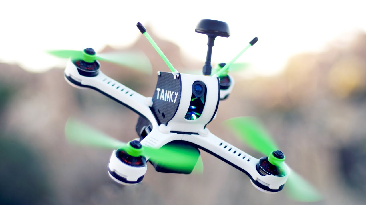 TANKY: World's Fastest Production FPV Racing Drone Quadcopter