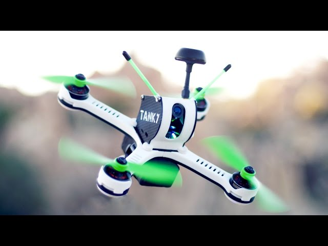 TANKY: Worlds Fastest Production FPV Racing Drone Quadcopter