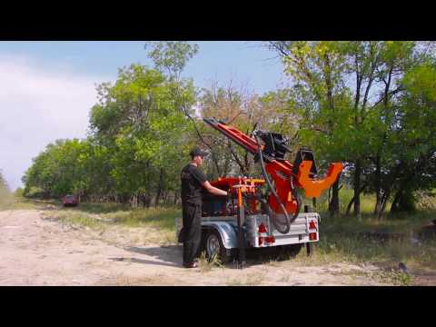 Portable Drilling Rig Trailer 60