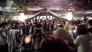 古川祭 起こし太鼓 青龍台めでた