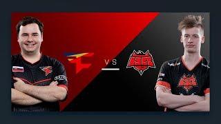 CS:GO - FaZe vs. HellRaisers [Overpass] - Group A Round 5 - ESL Pro League Season 6 Finals