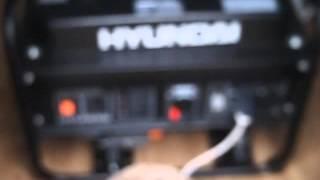 Электрогенератор HYUNDAI HHY3000F смотреть