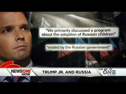 Donald Trump, Jr. In Hot Water Over Russian Emails, Meeting At Trump Tower