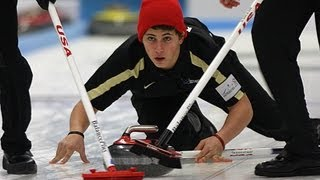 CURLING: World Junior Chps 2013 - Men Draw 2 SWE-USA