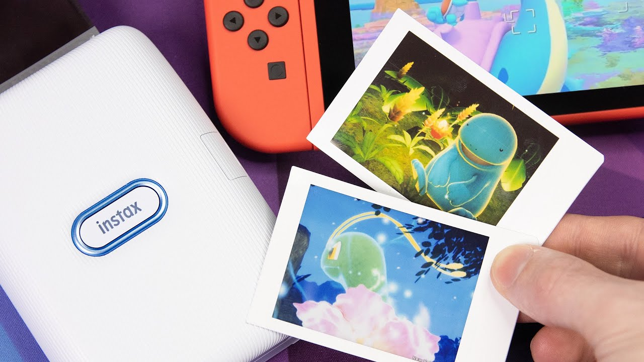 The Official New Pokémon Snap Printer for Nintendo Switch