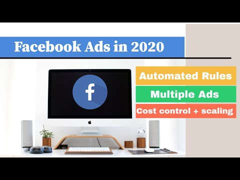 Facebook Ads | Manage FACEBOOK Ads with AUTOMATED RULES Feature in 2020