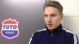 Otto Mäkinen LeKi-matsin ennakkohaastattelussa