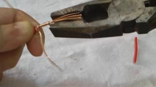 Emendas simples de fios