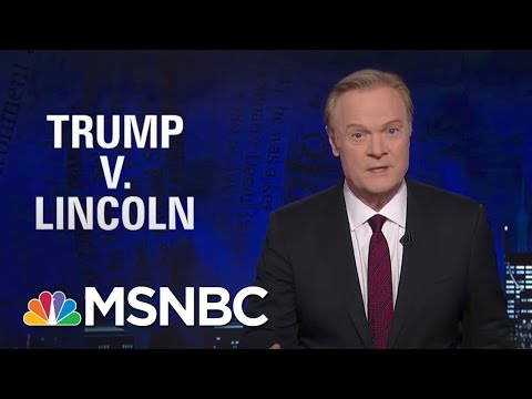 Lawrence On What President Donald Trump's Civil War Comments Reveal | The Last Word | MSNBC