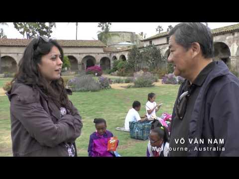 Võ Văn Nam - Lần Đầu Tiên Viếng Thăm Mission San Juan Capistrano /P1