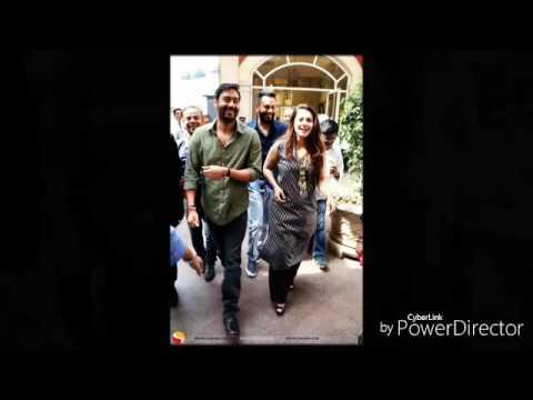 Super star Ajay Devgn fan R.nazeer  Bangalore