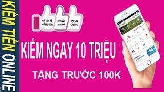 KIẾM NGAY 10 TRIỆU TRONG NGÀY: Nhận trước 100.000 VNĐ với ví điện tử MoMo
