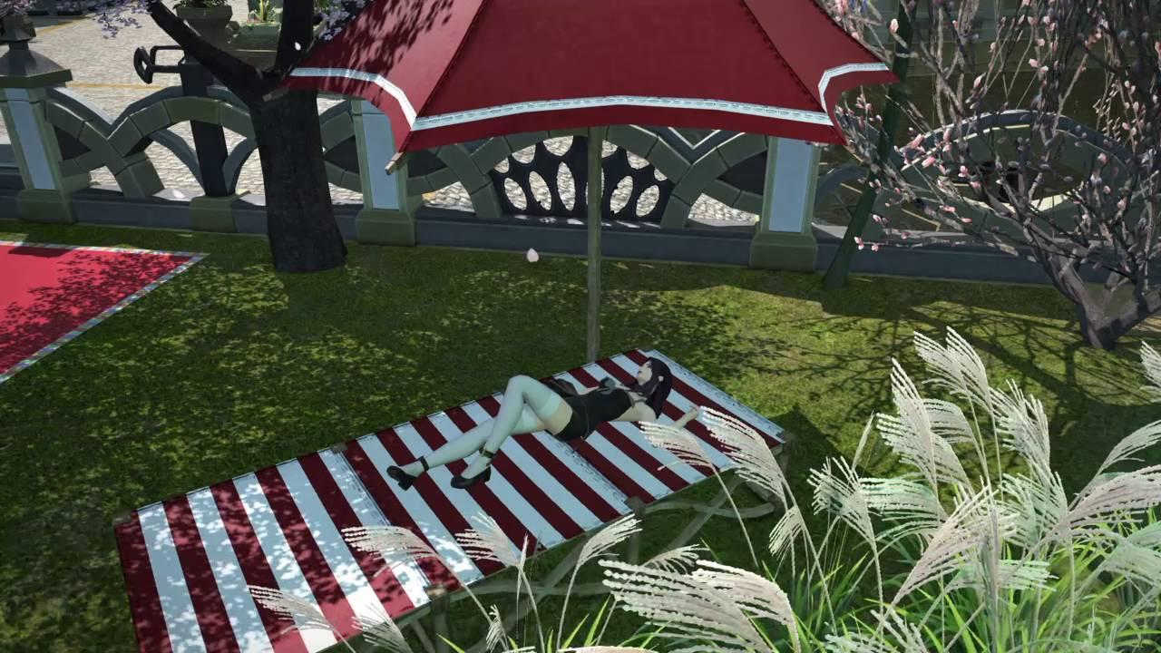 FFXIV Housing: Beach Chair now triggers the