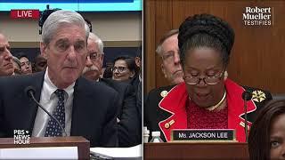 WATCH: Rep. Sheila Jackson Lee's full questioning of Robert Mueller   Mueller testimony
