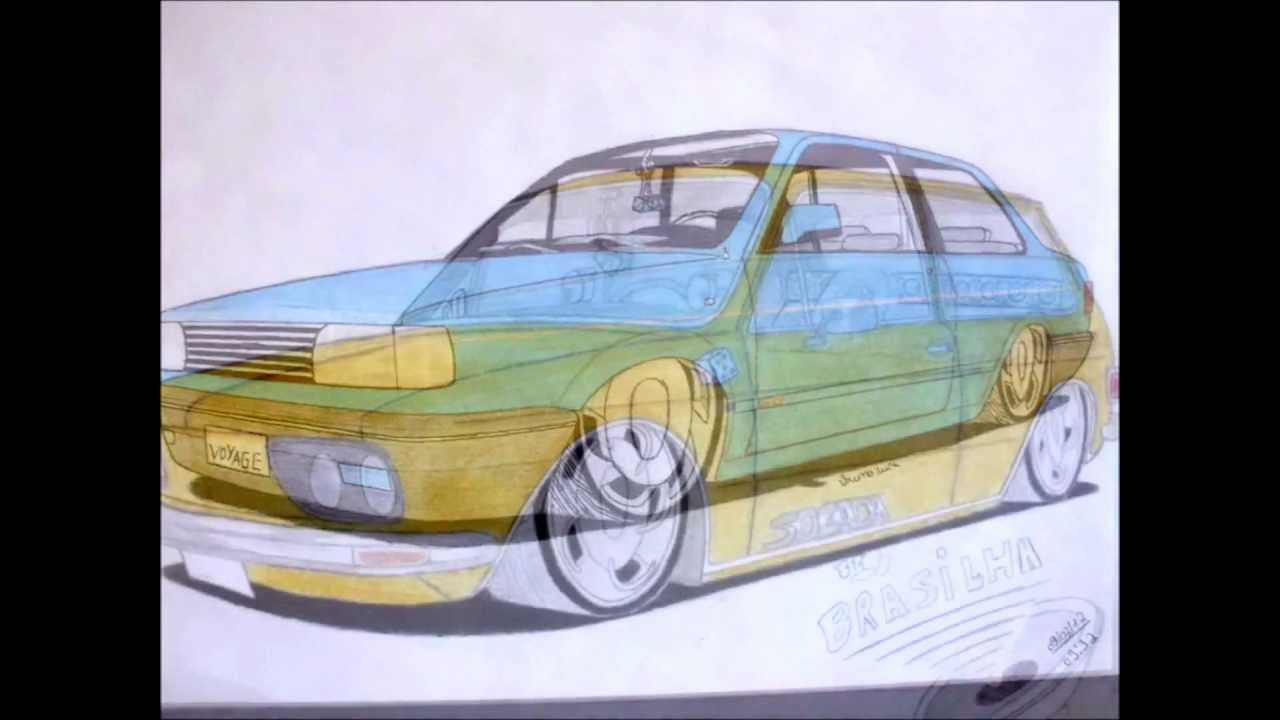 2 Edicao De Desenhos De Carros Rebaixados Youtube