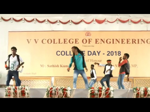 College Day 2018 LIVE | V V College of Engineering